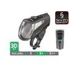 Trelock LS 460 I-GO POWER Fietsverlichting zwart